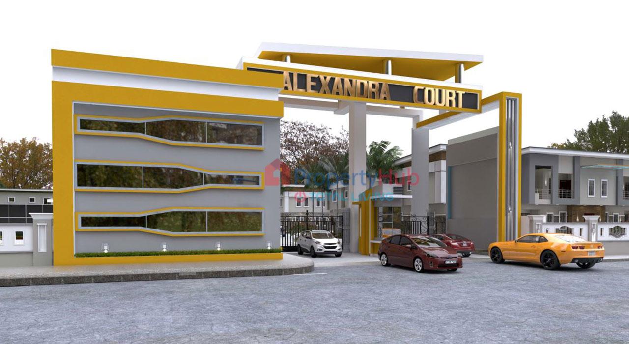 Alexandra Court Estate, Sangotedo – Lagos