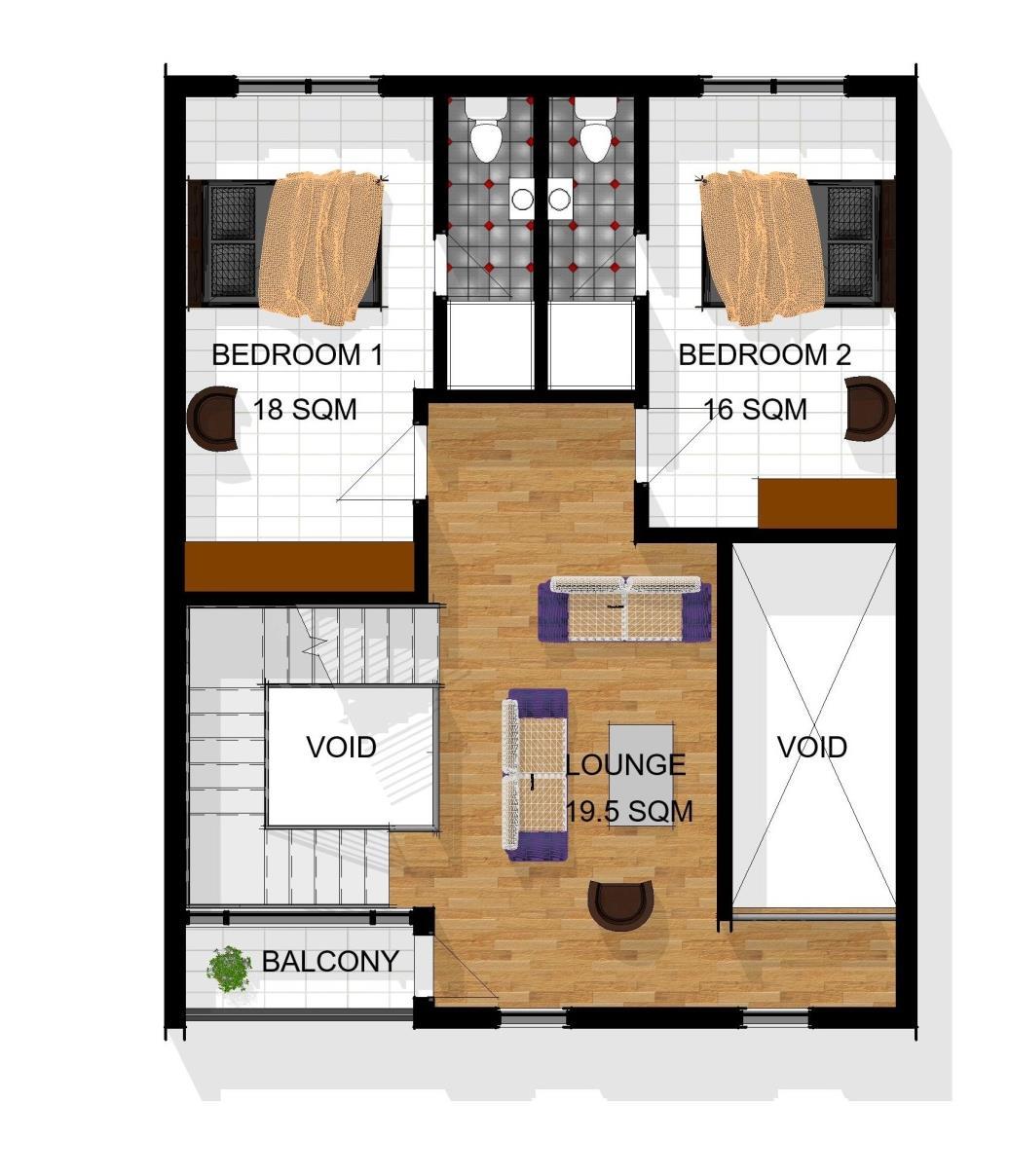 Terraces First Floor Plan